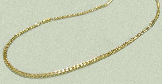 磁気ネックレス メンズタイプ キクオール K18無垢ゴールドチエーン 磁石 45cm 送料無料