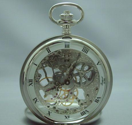Rapport PW91 懐中時計 提げ時計 ポケットウオッチ 両面ふたつき 手巻 イギリス 送料無料