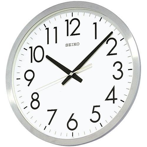オフィスや学校に スタンダードなクオーツ掛け時計 視認性にこだわったスタンダードオフィス掛時計 送料無料