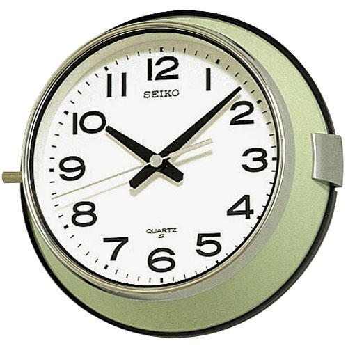 セイコー 防塵型 クオーツ掛け時計 レトロな魅力溢れるロングセラーモデル 送料無料