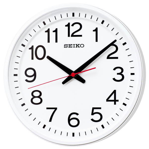 セイコー 掛け時計 クオ-ツクロック どこから見ても見やすい「教室の時計」送料無料