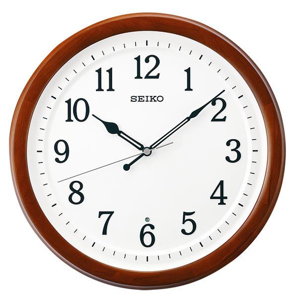 セイコー 掛け時計 電波クロック UDフォントを使った視認性に配慮したスタンダードタイプの掛時計 送料無料