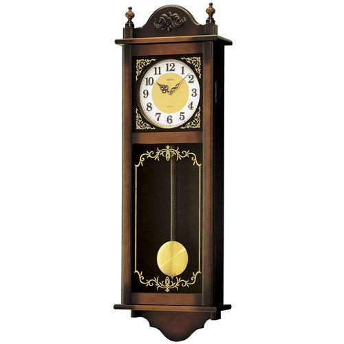 セイコークオーツ ウエストミンスター・チャイム 報時時計 正時数取り 和音打ち 大型柱時計 送料無料