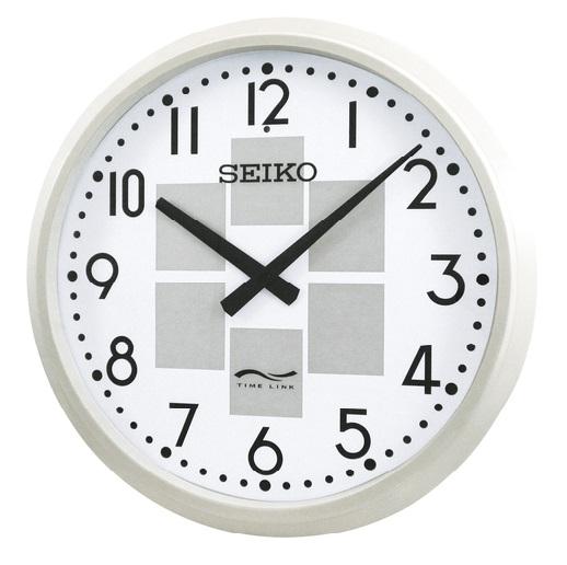 SEIKO タイムリンクプロ タイムリンククロック ソーラー式 長波電波時計 送料無料