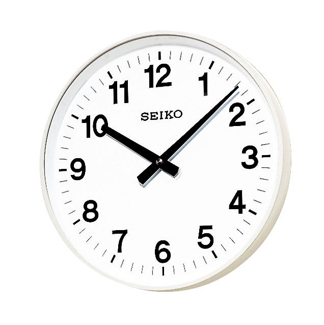 設備時計 SEIKO 子時計 スタンダードでシンプルなデザイン。学校、オフィス、病院や公共施設などに最適です。送料無料