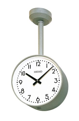 設備時計 SEIKO 子時計 スタンダードでシンプルなデザイン 病院や公共施設などに最適です 学校 買収 国内在庫 オフィス 天井から吊り下げて使用します