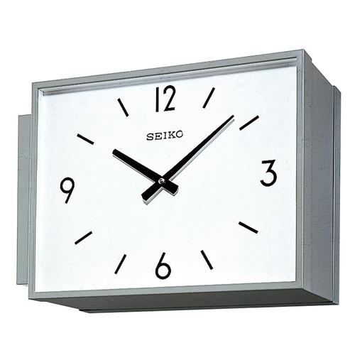 設備時計 SEIKO 子時計 スタンダードでシンプルなデザイン 学校 オフィス、病院や公共施設などに最適です。壁面や柱から張り出すように取り付けます。