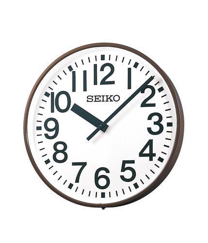 SEIKO 屋内/屋外兼用子時計 壁掛け型 視認性に優れた大型の子時計。体育館や講堂、ホールなどに最適です。送料無料
