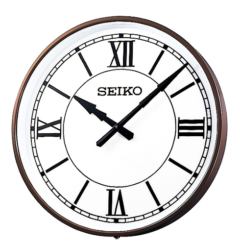 SEIKO 屋内/屋外兼用子時計 壁掛け型 視認性に優れた大型の子時計。視認性に優れた大型の子時計。省エネルギーで環境に優しいLED内部照明付。送料無料