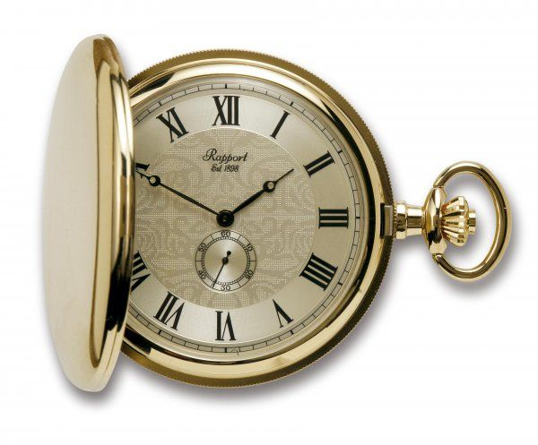 Rapport PW84 懐中時計 提げ時計 ポケットウオッチ クオーツ イギリス 送料無料