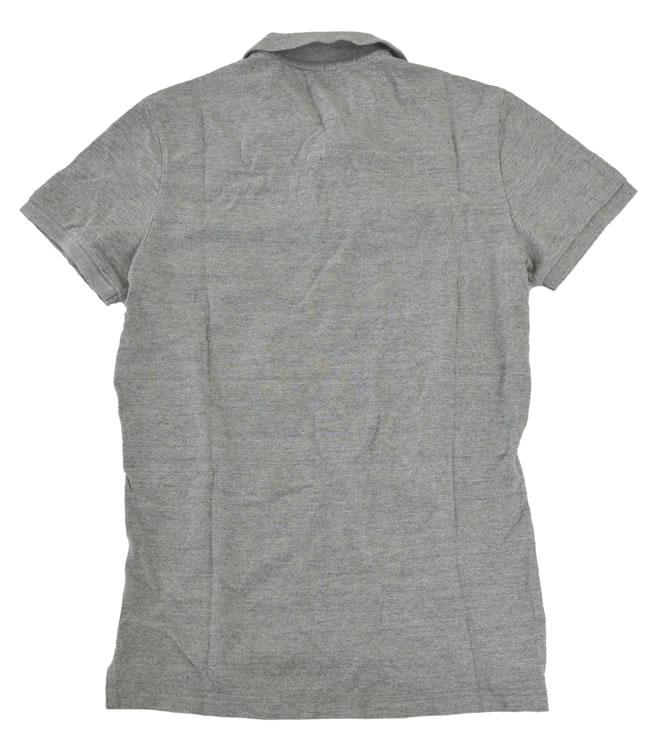 美国鹰/American Eagle人开领短袖衬衫灰色尺寸S