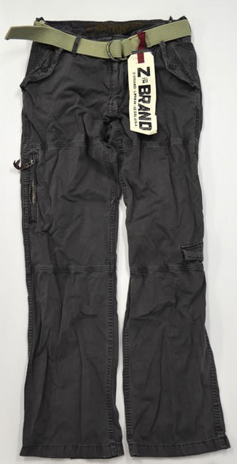 ea413f35ce Sybrand Z-brand ◇ cargo pants dark grey full straight ◇ mens ◇ size 32 ...