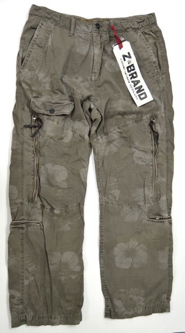 081f7d4d2a Sybrand Z-brand ◇ full straight khaki cargo pants ◇ mens ◇ size 38 inches  ...