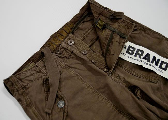531856bf04 ... Sybrand Z-brand ◇ cargo pants full straight dark brown ◇ mens ◇ size 32  ...