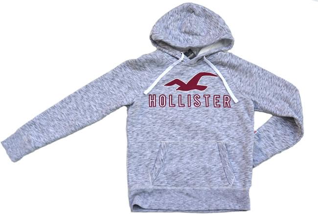 ホリスター / Hollisterパーカー ライトグレーサイズ【XS-XL】【即納】【あす楽対応】【正規品】【smtb-TD】【yokohama】