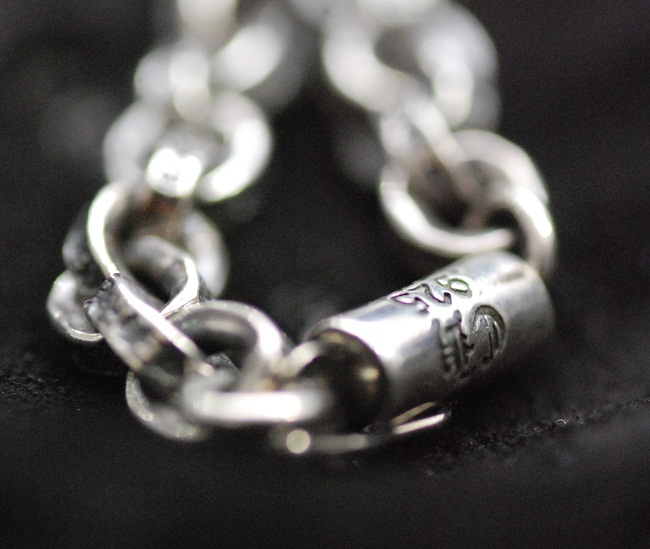 Chrome CHROME HEARTS • paper chain necklace 22 inch