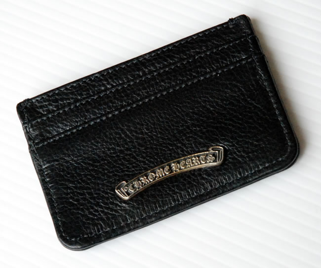 premium selection 916be 7821f Chrome / CHROME HEARTS wallet - card case scroll double side black