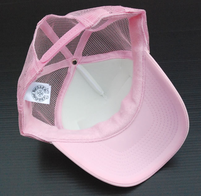 cd89082d356da OOPARTS  Chrome CHROME HEARTS mesh Cap   Trucker Cap Pink FUCK ...