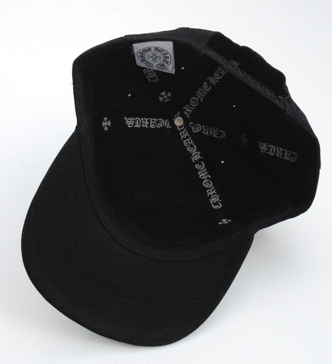 504d235a840dc OOPARTS  Chrome   CHROME HEARTS  Trucker Cap Black denim front CH ...