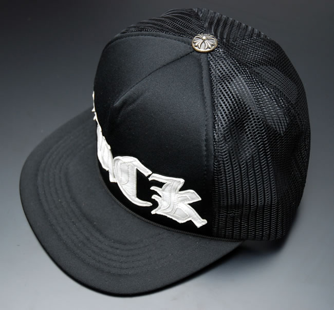 701f9f931651f OOPARTS  Chrome CHROME HEARTS Tracker Cap FUCK ☆ Black WHITE ...