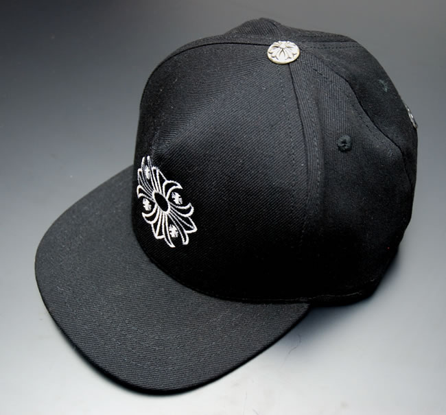 20692617de21e OOPARTS  Chrome CHROME HEARTS Tracker Cap denim ☆ Black