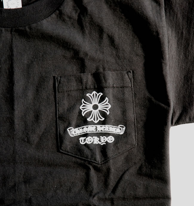 Chrome / CHROME HEARTS ◆ mens short sleeve T shirt ◆ M size ◆ black Black