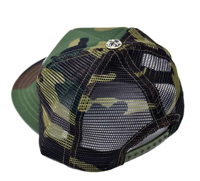 05a6d9f3f4c Chrome   CHROME HEARTS patch mesh Hat Cap   Trucker Cap Camo camouflage   FUCK duck