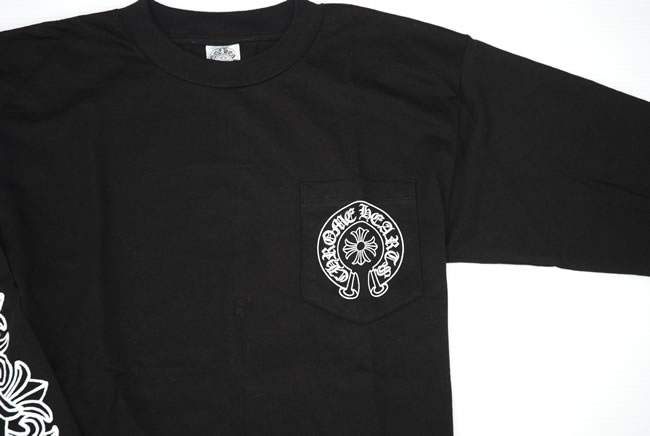 c91dc6ede51d OOPARTS  Chrome   CHROME HEARTS ◇ mens ◇ t-shirt ◇ black Black ...