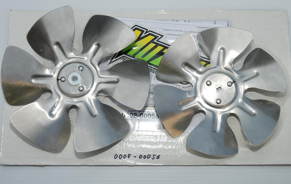 Massey アルミクーリングファン ( Muzzys )-2 piece set product number: 0008-00056