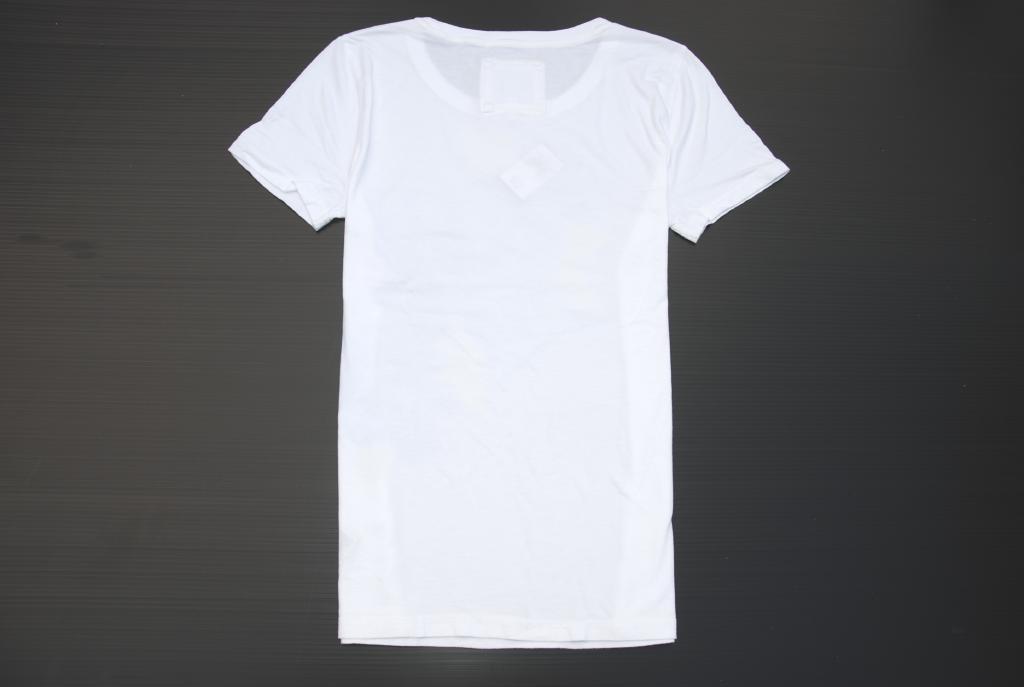 아바크로/ abercrombie&fitch◆정규품・진짜◆레이디스 반소매 T셔츠◆L사이즈◆화이트흰색