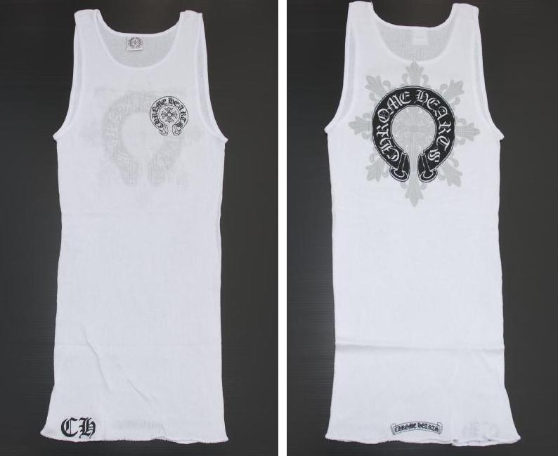 ee0dba24a6902 ◇Chromic Hertz   CHROME HEARTS ◇Men s tank top ◇Medium size ◇White white