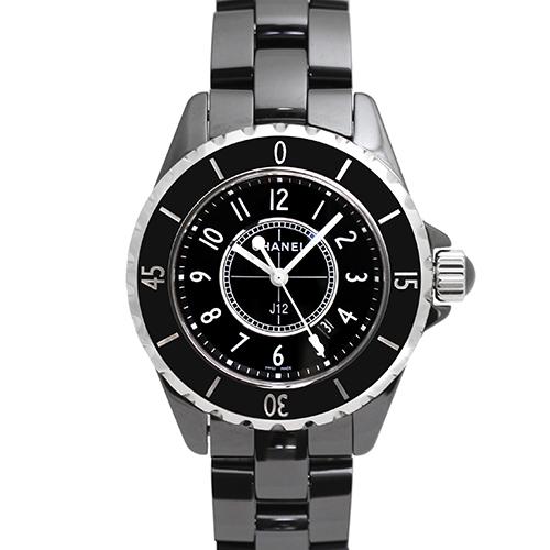 シャネル CHANEL J12 黒 33mm H0682【送料無料】【新品】【レディース】【腕時計】【本店_C4813】