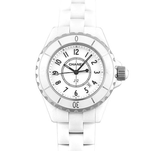 シャネル CHANEL J12 白 ホワイト 33mm H0968【送料無料】【新品】【レディース】【腕時計】 【本店_C4847】