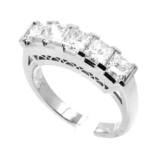 ノンブランド NONBRANDダイヤモンドリング #12PT900 12号【送料無料】【中古】【指輪】【本店_54518】