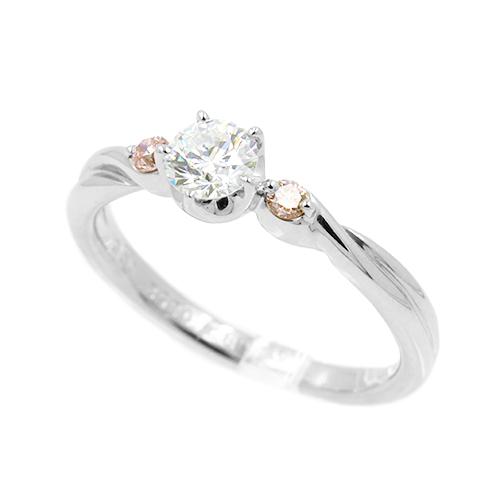 ノンブランド NONBRANDピンクダイヤモンドリング #11PT900 11号【送料無料】【中古】【指輪】【本店_55880】