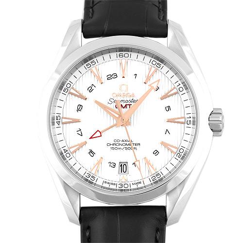 OMEGA【オメガ】 231.13.43.22.02.004 腕時計 SS/SS×革 メンズ
