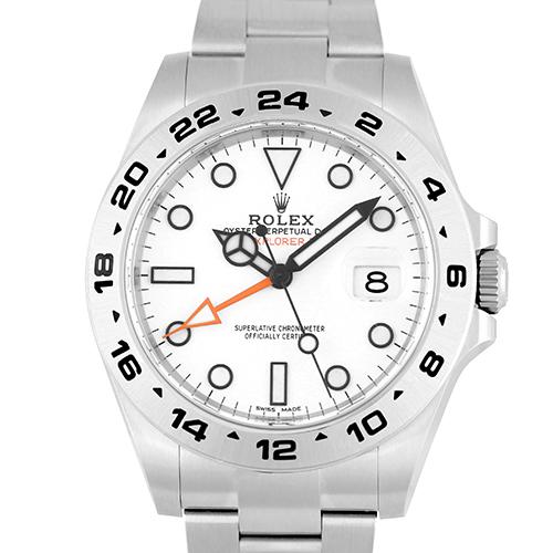 ロレックス ROLEX エクスプローラー2216570 SS 42mm 白 ホワイト【送料無料】【新品】【メンズ】【腕時計】【心斎橋店_S2654】
