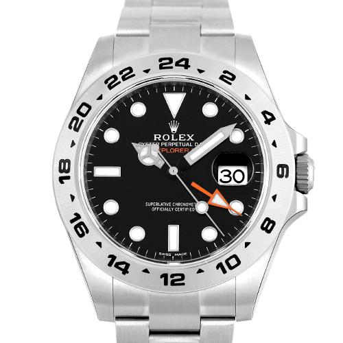 ロレックス ROLEX エクスプローラー2 216570 SS 42mm 黒 ブラック 【送料無料】【新品】【メンズ】【腕時計】【本店_57657】