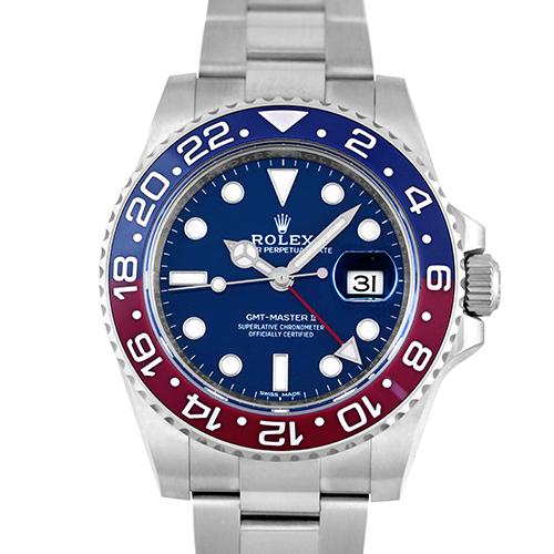 【正規品】ロレックス ROLEX GMTマスター2 116719BLRO WG 40mm 青×赤ベゼル ブルー 【送料無料】【新品】【メンズ】【腕時計】【本店_56143】