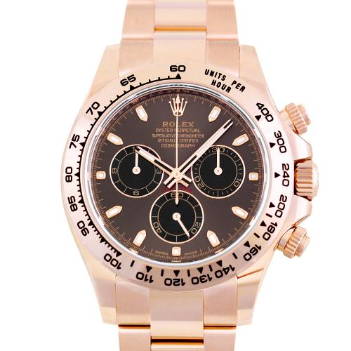 ロレックス ROLEX デイトナ 116505 PG 40mm ブラウン×ブラック【送料無料】【新品】【メンズ】【腕時計】【本店_C4864】
