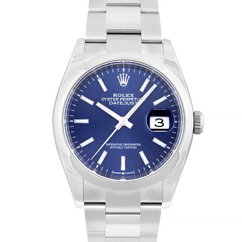 ロレックス ROLEX デイトジャスト SS ブルー 36mm 126200【送料無料】【新品】【メンズ】【腕時計】【本店_C4908】