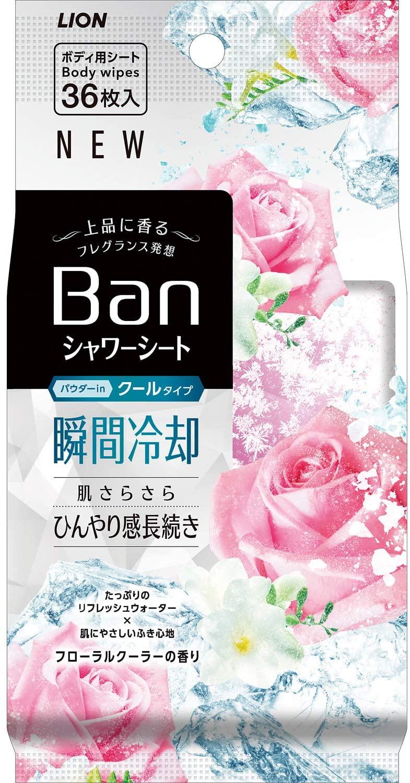 送料無料 一部地域を除く まとめ買い10個 Ban フローラルクーラーの香り クールタイプ 販売実績No.1 爽感さっぱりシャワーシート 上等 36枚入