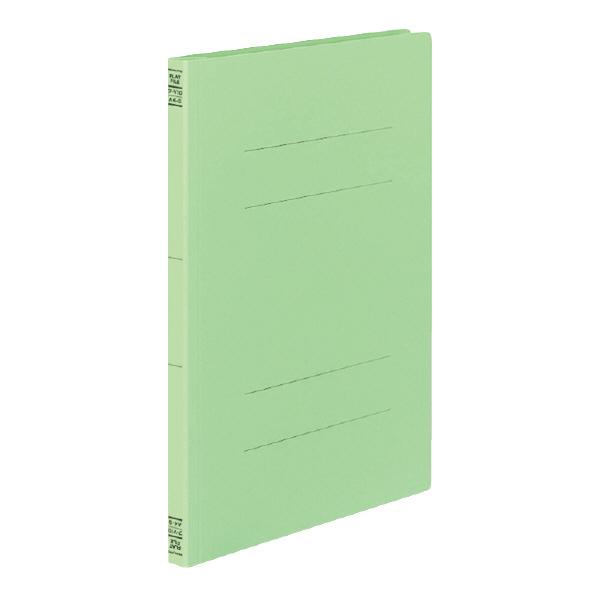 紙ファイルの定番 期間限定特価品 有名な フラットファイルV樹脂製とじ具A4縦 15mmとじ 緑 まとめ買い10冊 コクヨ フ-V10G