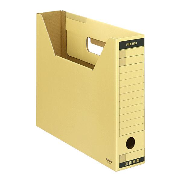 コクヨ ファイルボックス-FS TタイプA4横 収納幅67mmクラフト 品番:A4-SFT