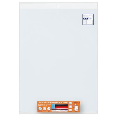 壁やガラスにピタッ! コクヨ ホワイトボード「ピタボ」(吸着シートタイプ)無地600×450mm [FB-P152W]
