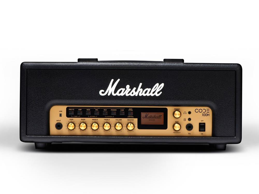 マーシャル ギターアンプヘッドCODE100H 【本州・四国・九州への配送料無料】