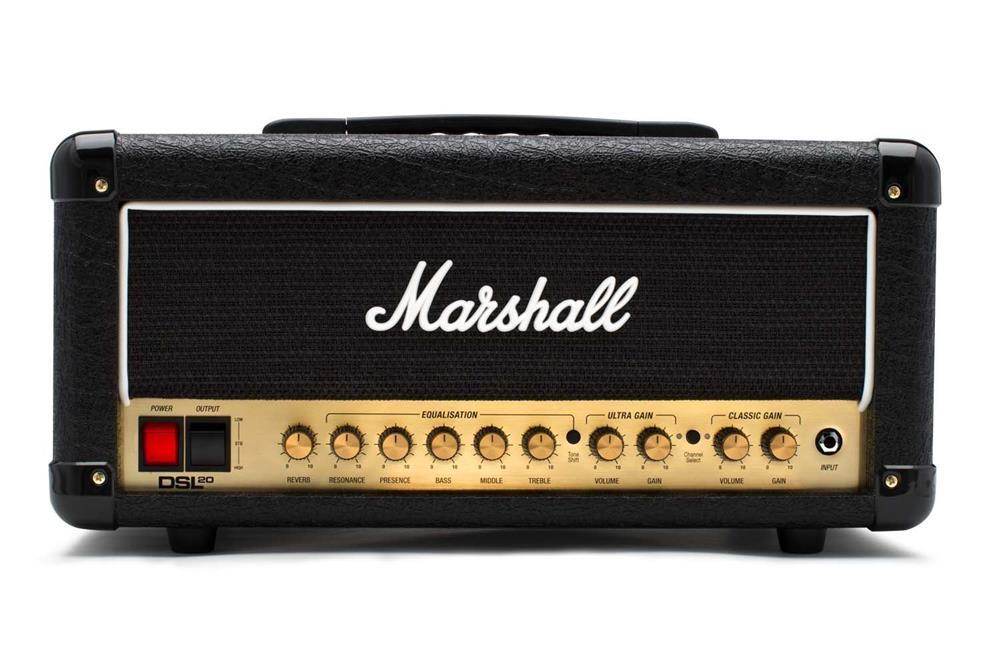 マーシャル ギターアンプヘッドDSL20H (DSL20HR) 【本州・四国・九州への配送料無料】