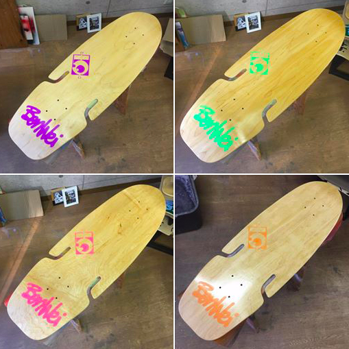 Benweiサーフスケートボード・デック
