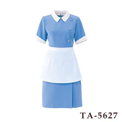 ワンピース(半袖) 襟・カフス付