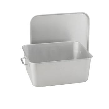 シルバーアルマイト 重なるパン箱 TA-30【給食】【食缶】